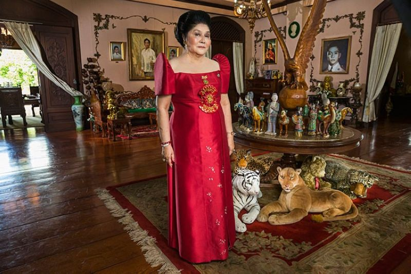MANILA. This image released by Showtime shows Imelda Marcos from the documentary