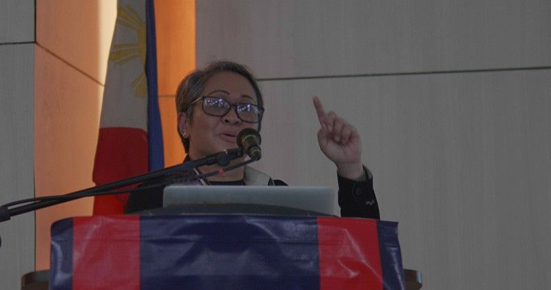 MIPASABOT: Si Dr. Johanna Cañal, bise president sa Philippine Radiology Oncology Society. (Tampo)