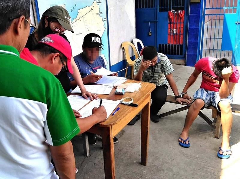 ILIGAN. PDEA agents conduct inventory following their operation in Iligan City that led to the arrest of two drug personalities on Monday, September 9, 2019. (Courtesy of PDEA Director Wilkins Villanueva)