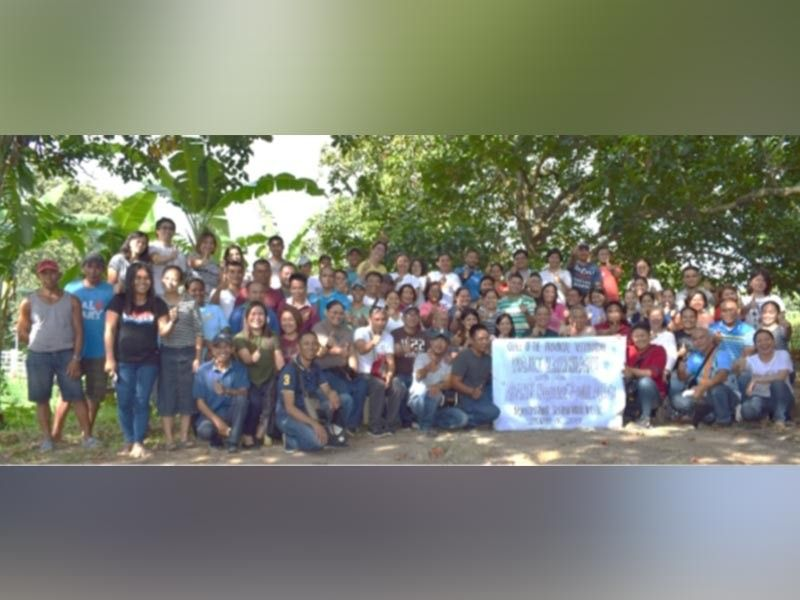 BACOLOD. Provincial Veterinary Office personnel during their harmonization activity at the Negros First Ranch in Murcia recently. (Contributed photo)