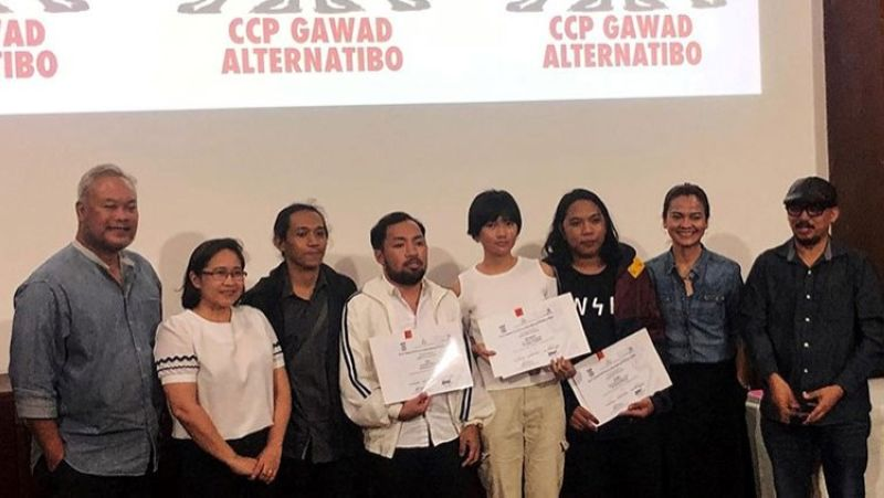 MANILA. Animation winners flanked by CCP officials and judges. (Contributed photo)