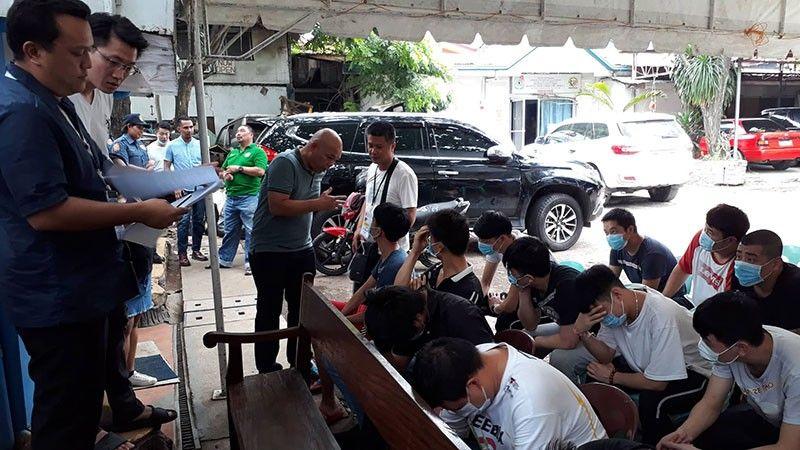 NADAKPAN: Mga langyaw o kadaghanan Insek ang gipaaubos sa inquest proceedings sa Lapu-lapu City Prosecutors Office sa Criminal Investigation and Detection Group (CIDG) 7. (Alan Tangcawan)
