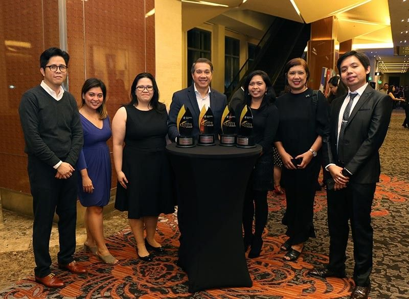 MANILA. Ayala Foundation bags four awards at the IABC Philippines' Quill Awards held at the Marriott Grand Ballroom in Pasay City recently. (Contributed Photo)