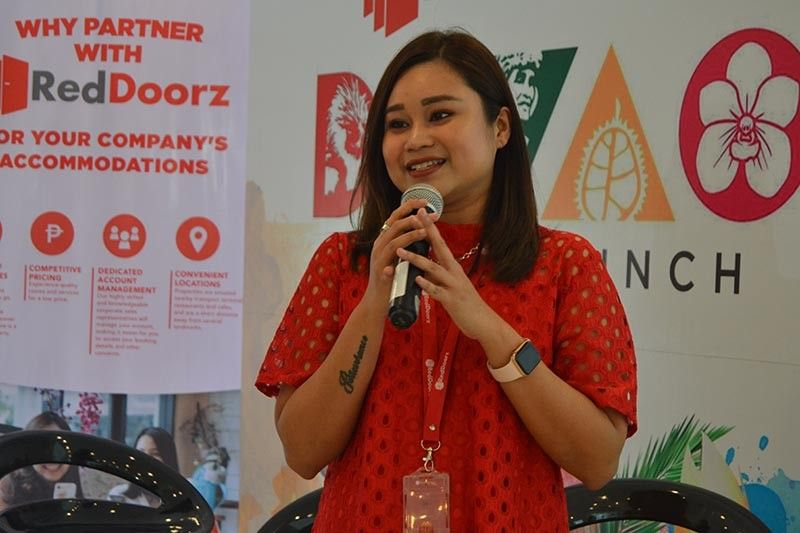 DAVAO. With more people traveling domestically, Stefanie Irma, RedDoorz Philippines country head, said RedDoorz is committed to providing more affordable and comfortable accommodations to Filipinos as it expands aggressively nationwide. (RJ Lumawag)