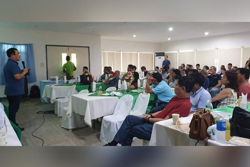 NEGROS. The various stakeholders of Victorias City who attended the City Development Council meeting held at VMC Golf club in September 12. (Contributed photo)