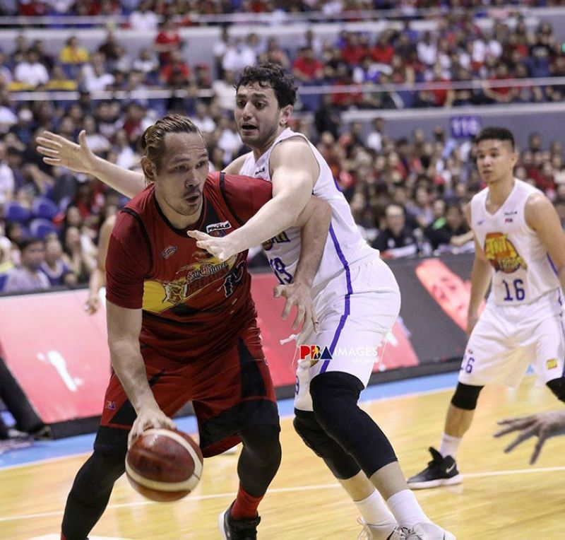 Cebuano giant June Mar Fajardo and the rest of the San Miguel Beermen will play Rain or Shine here in Cebu on November 9. (Image courtesy of PBA)