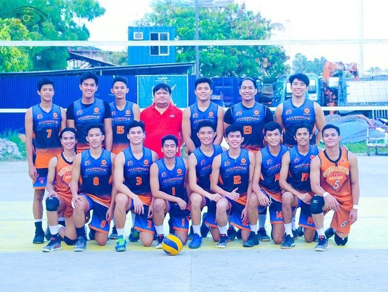 DAVAO. The University of Mindanao (UM) Wildcats wins the 6th Abreeza Kadayawan Open Volleyball Tournament men's volleyball title recently. (Jason Gozun)