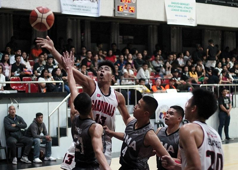 BAGUIO. BBEAL season 33 host CCDC vows for exciting basketball games after the format was converted into a round robin with all teams playing all member schools in the centerpiece men's basketball event. (SSB file photo)