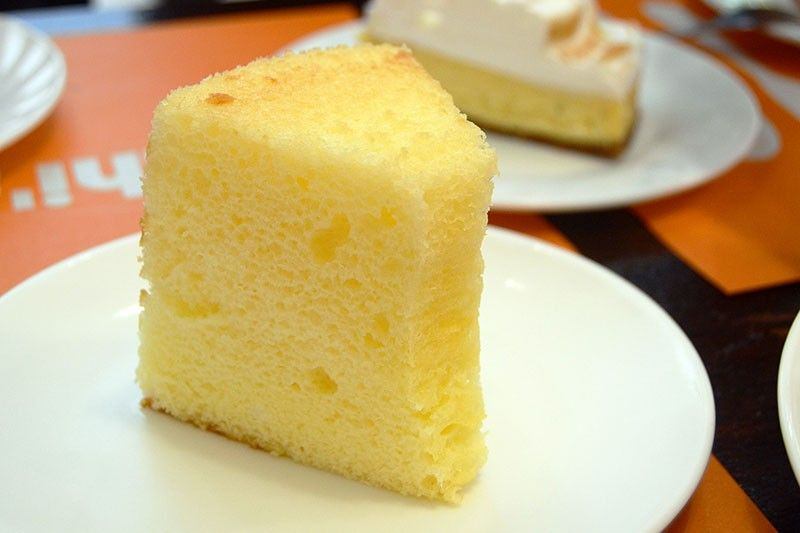 Chiffon Cake (Photo by Reuel John F. Lumawag)