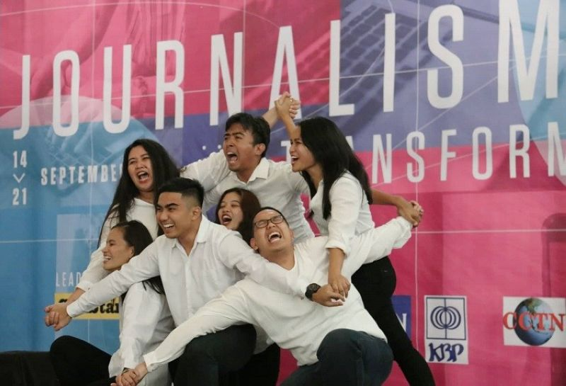 CEBU. Members of the Cebu media gathered at the Capitol Social Hall Sunday, September 15, 2019 to showcase their talents in a dance contest during the opening fellowship of the 27th Press Freedom Week. (Photos by Amper Campaña and Arni Aclao)