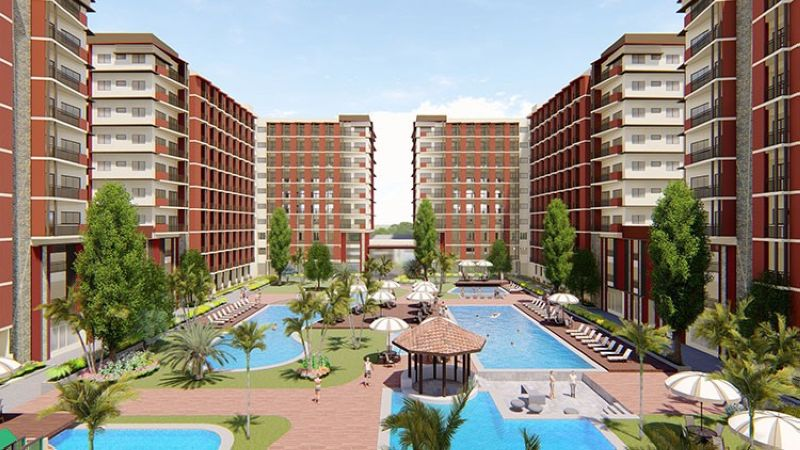 Emphasize unique amenities that tenants can enjoy, such as the multiple pools in the resort-style condominium complex of Primeworld District in Mactan, Cebu.