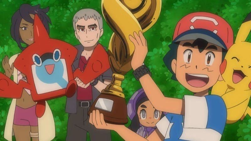 DAVAO. Ash Ketchum celebrates with Pikachu and his friends after winning the Manalo Conference. (Contributed photo)