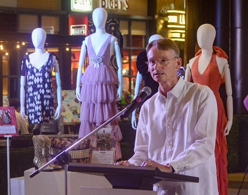 SUSTAINABLE FASHION. Swedish Ambassador Harald Fries says Swedish companies in the Philippines want to share their sustainable business practices, particularly on fashion, one of the most polluting industries in the world. (Sunstar Photo / Arni Aclao )