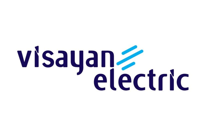 CEBU. The new logo of Visayan Electric Co. Inc., which is now known as Visayan Electric.