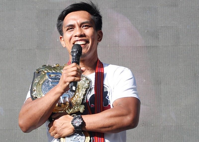 RECLAIM. Ever since losing to Bibiano Fernandez via disqualification earlier this year, Kevin Belingon is laser focused on reclaiming ONE Championship's bantamweight world title next month in Tokyo, Japan. (SSB file photo)