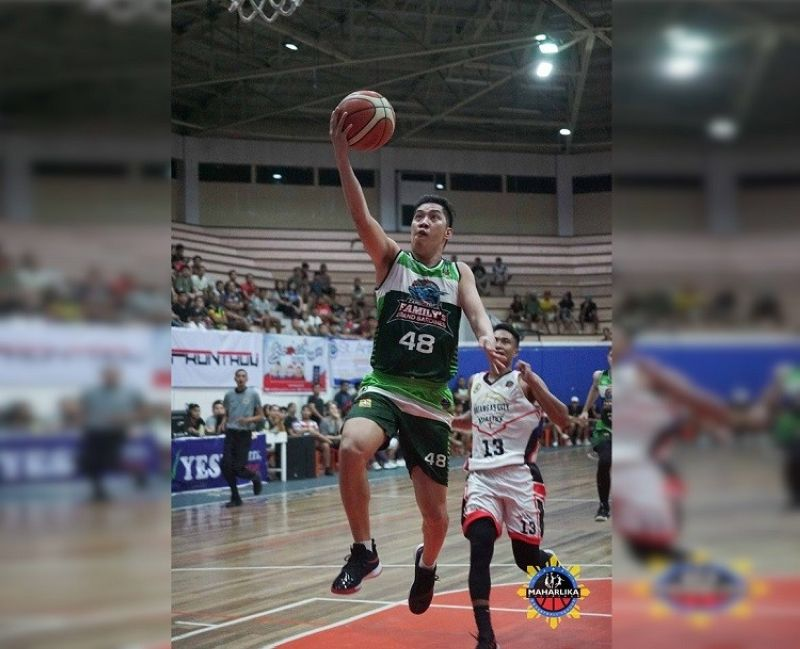 Cebuano Reed Juntilla has been traded by Zamboanga to Bataan in the MPBL. (Image courtesy of MPBL)