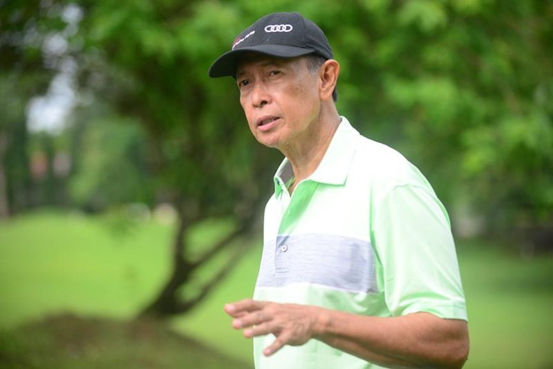 ILOILO. Herminio Maravilla II, president of Iloilo Golf and Country Club. (Leo Solinap)