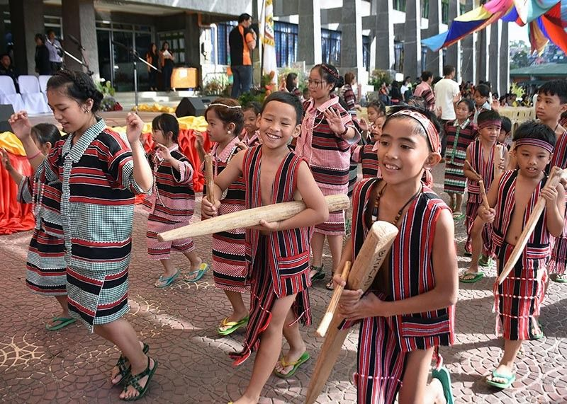 "BENGUET. Students from La Trinidad, Benguet join last year's Adivay street dancing parade. The province is set to celebrate the festival anew with a theme ""Sustaining a Healthier Benguet."" (Photo by Redjie Melvic Cawis)"