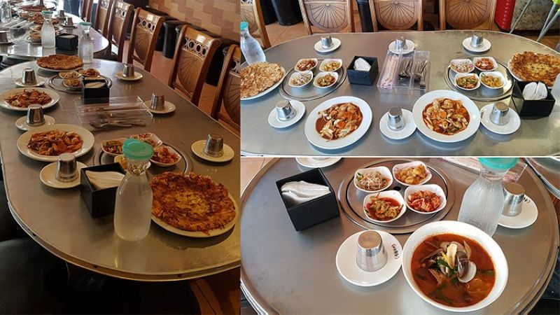 DAVAO. Photos of the dishes the man who claimed to be the vice mayor ordered. (Photo from Orange Mae Angulo)