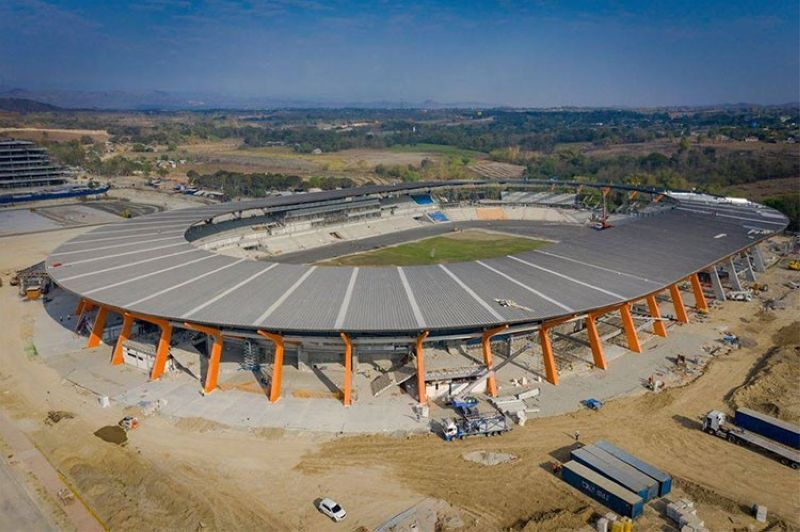 File photo of the New Clark City Stadium (Photo from New Clark City Facebook page)