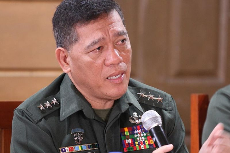 BAGUIO. Lieutenant General Ronnie Evangelista assures the public the Philippine Military Academy will file appropriate charges against three cadets in connection to the death of Cadet Fourth Class Darwin Dormitorio. (Photo by Jean Nicole Cortes)