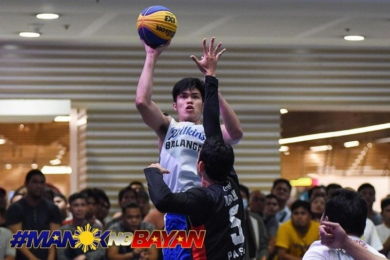 Cebuano Leonard Santillan and Wilkins Balanga Pure claimed the title in the 2019 Chooks-to-Go Pilipinas 3x3 Magiting Cup. (Image courtesy of Chooks-to-Go)