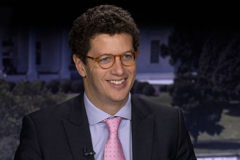 WASHINGTON. Brazil's Minister of the Environment Ricardo Salles smiles for a photo during an interview with The Associated Press in Washington, Friday, September 20, 2019. After facing international criticism for steeply rising rates of deforestation in the Amazon, Salles is visiting the U.S., France, Germany, and the United Kingdom to insist that there's no big problem. (AP)