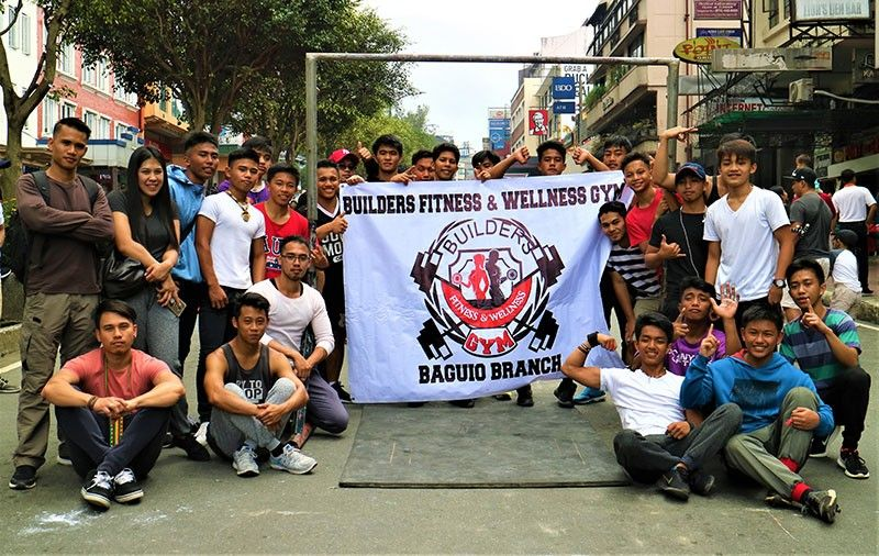 BAGUIO. Bardilleranz Streetworkout Inc. Spreading fitness through street workout and calisthenics thus keeping the youth away from vice and online games. (Photo by Osharé)