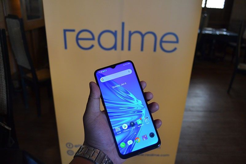 Realme 5 (Photo by Reuel John F. Lumawag)