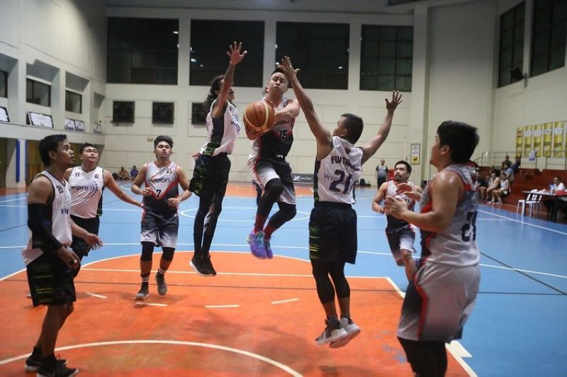 Nino Belande had a triple-double in Fusion's huge win over Dreamscape. (Contributed photo)