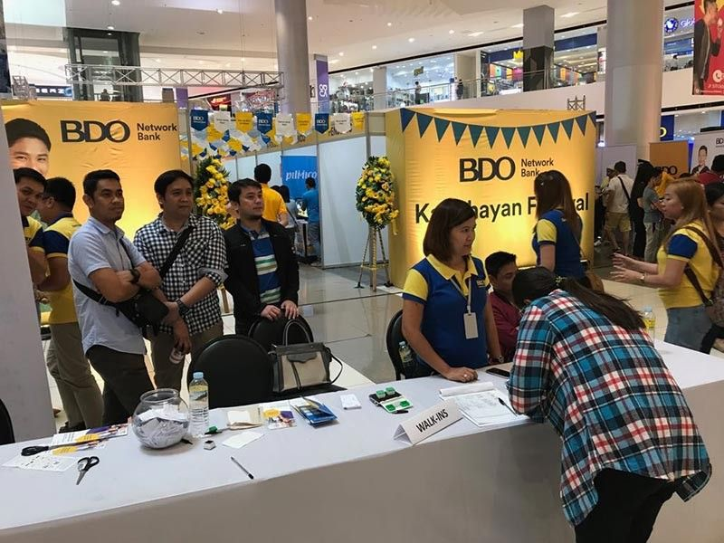 DAVAO. The Kabuhayan Festival held at a mall over the weekend featured financial literacy lectures by BDO Network Bank and booths of micro and small entrepreneurs who accessed capital from the bank's Kabuhayan loan portfolio. (Stella A. Estremera)