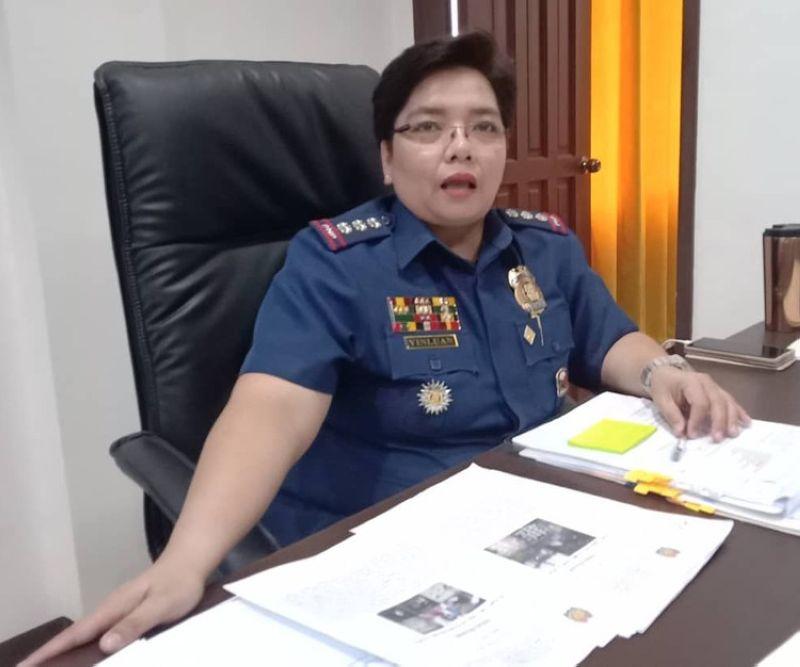 Col. Gemma Vinluan, CCPO director (File photo)