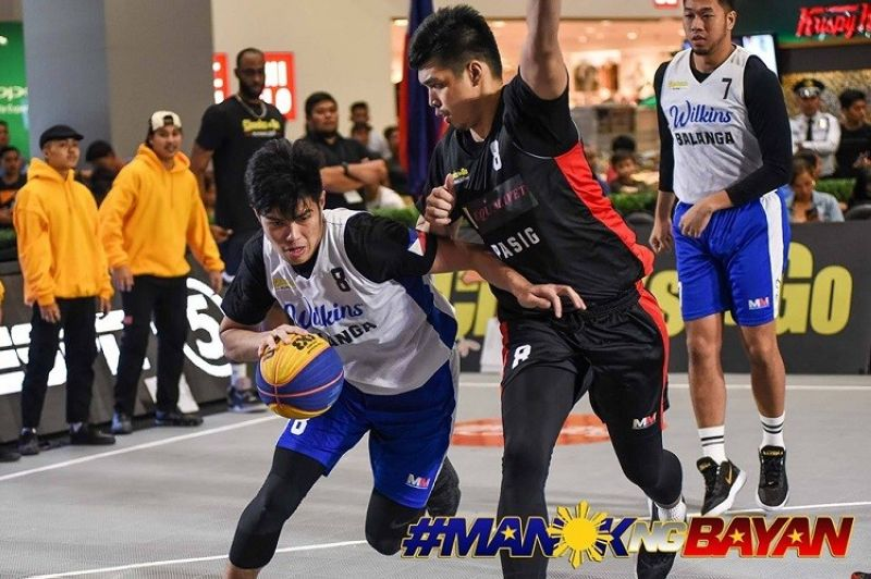 Cebuano forward Leonard Santillan, seen here competing for Wilkins Balanga, is ranked 180th in the world. (Image courtesy of Chooks-to-Go)