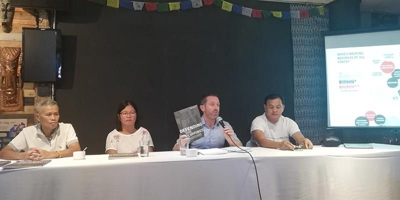 "CAGAYAN DE ORO. United Kingdom-based environmental watchdog Global Witness presented to the local media Thursday, September 26, its report ""Defending the Philippines"" which tagged the Philippines as the most dangerous country for environmental activists. (Photo by PJ Orias)"