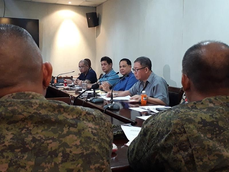 ILOILO. Governor Arthur Defensor Jr. called for a meeting with concerned agencies and departments with regard to the transport strike on Monday, September 30, 2019. (Leo Solinap)