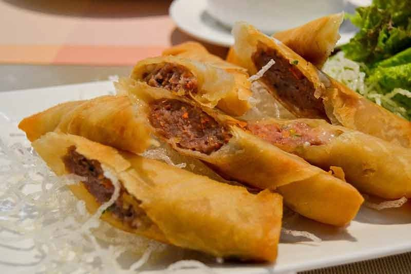 Pork Lumpia (Photo by Reuel John F. Lumawag)
