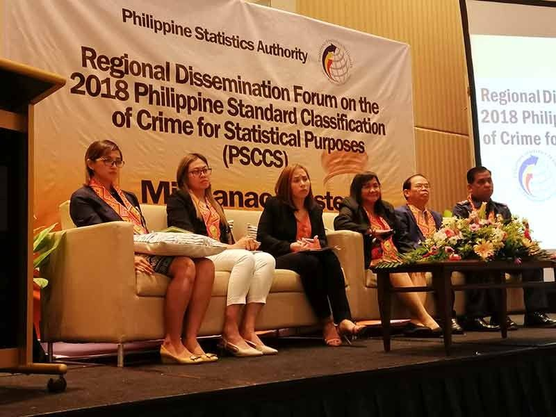 DAVAO. Panelists during the PSCCS National Dissemination Forum at the Marco Polo Hotel on Wednesday, September 25. (Photo by Ralph Lawrence G. Llemit)