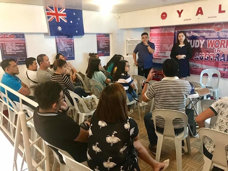 Yale Migration and Education Consultants provides free Australian visa orientation about the Student Visa Program. Contributed Photo