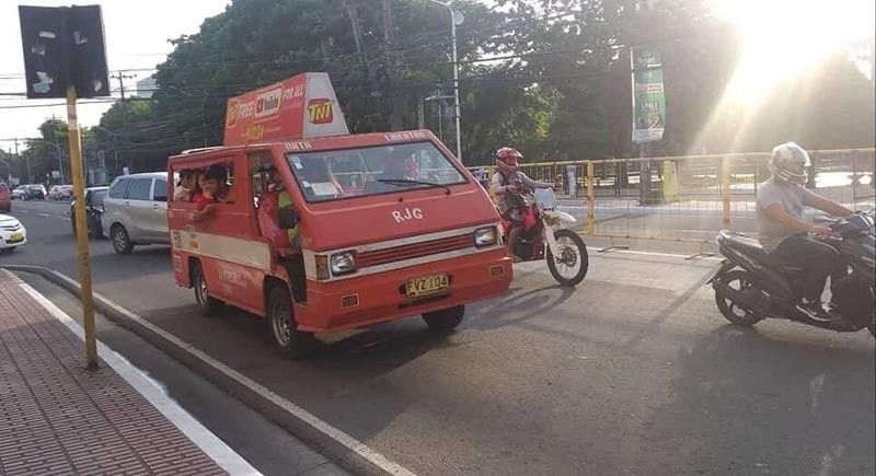 BACOLOD CITY. A 95 percent paralysis on public utility vehicles in Negros Occidental especially in Bacolod City is expected during the nationwide transport strike today. (Erwin P. Nicavera)