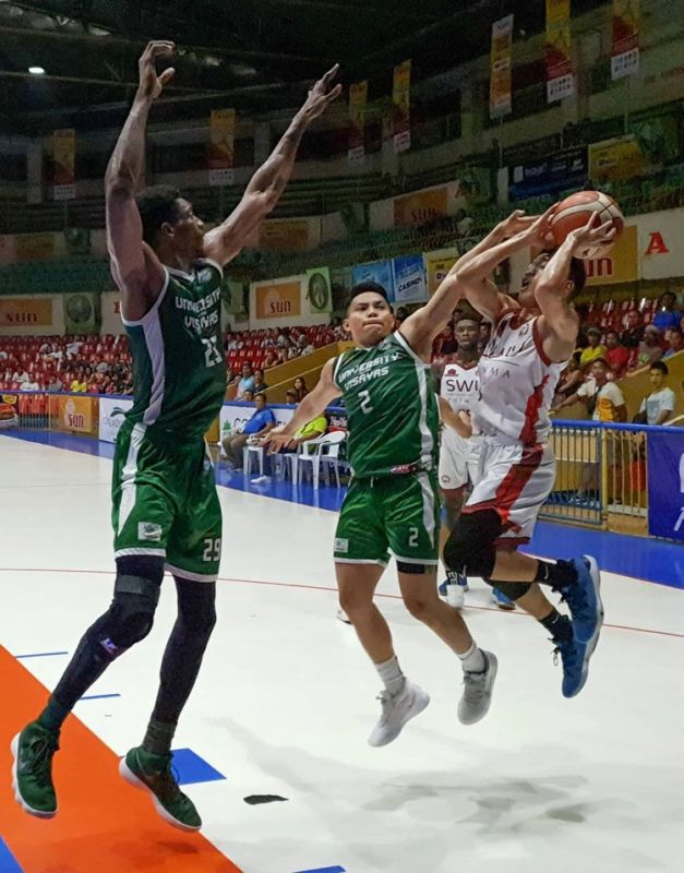 The University of the Visayas(UV) Lancers' defense will once again be tested when they face off against the University of Southern Philippines-Foundation (USPF) Panthers on Tuesday in the Cesafi. (SunStar foto/ Arni Aclao)