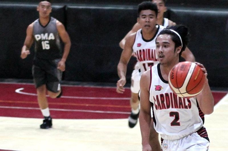 BAGUIO. After storming back to the top of the Baguio-Benguet educational athletic league in 2018, the UB Cardinals will have an almost line-up intact with Claude Leymark Camit and Vince Aaron Sibbaluca returning for another season. (Jean Nicole Cortes)