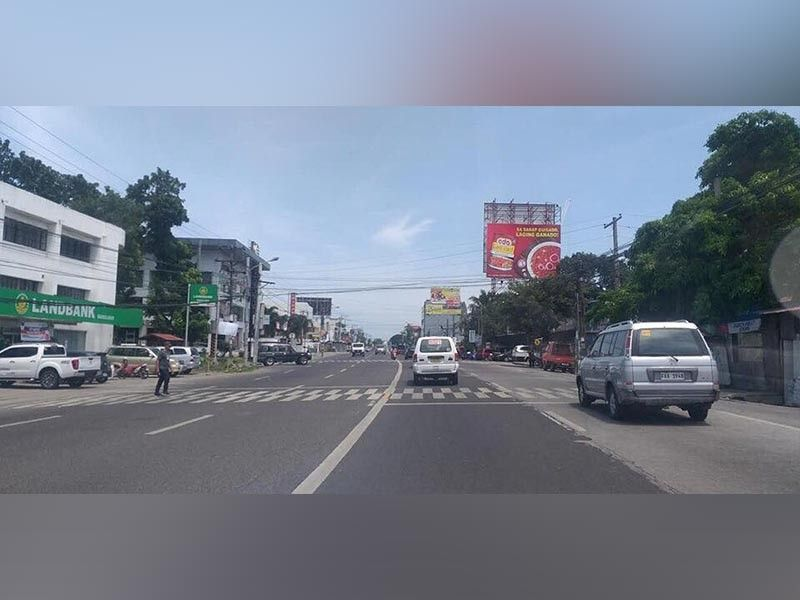 BACOLOD. From being one of the busiest thoroughfares in Bacolod City, a smooth flow of traffic was observed along Lacson Street during the nationwide transport strike Monday, September 30, 2019. (EPN)