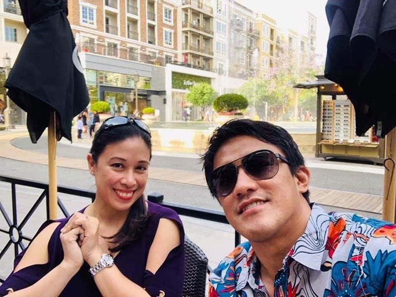 Sunny Diego with wife Hannah Diego (Contributed photo)