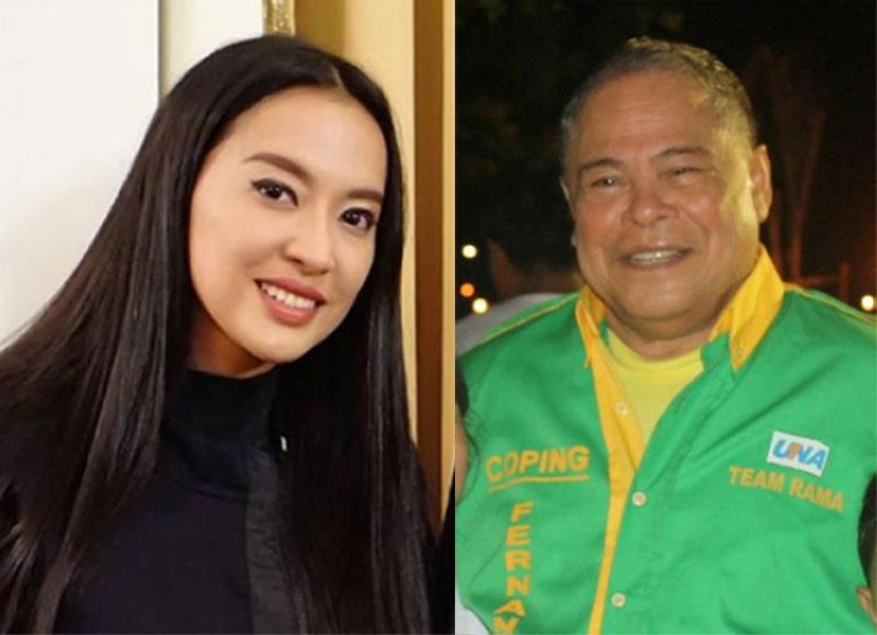 Mocha Uson (left) and Procopio