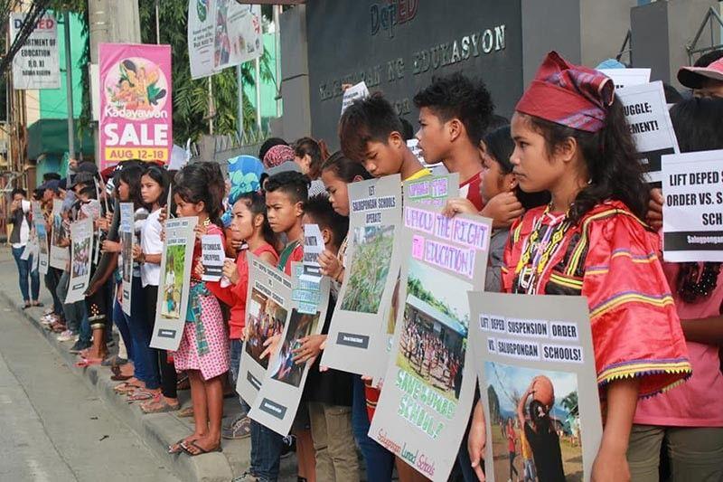 (Photo from Salugpongan Lumad Schools in Mindanao)