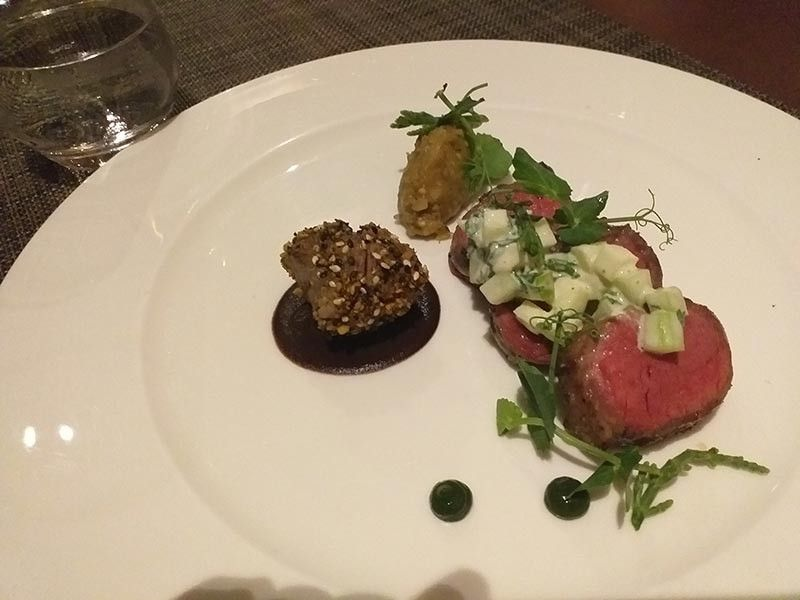 SINGAPORE. The Roasted Lamb Loin & Collar. (Cristina E. Alivio)