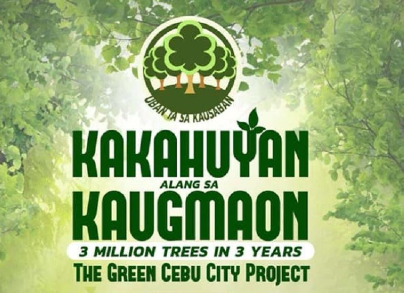 CEBU. Around 10,000 volunteers are expected to take part in a massive tree planting activity initiated by the Cebu City Government in the different identified sites of the city on Saturday, October 5, 2019. (Image courtesy of Cebu City Public Information Office)