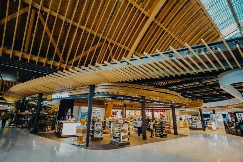 Duty Free Philippines inside the Mactan-Cebu International Airport. (Photo courtesy of GMCAC)