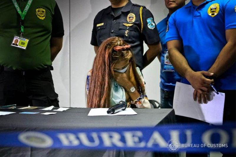 Photo from the Bureau of Customs' Facebook page