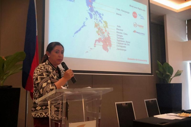 DAVAO. Department of Tourism-Davao Director Tanya Rabat-Tan said some 2.2 million tourists visited Davao Region in the first half of the year. (Ace Perez)